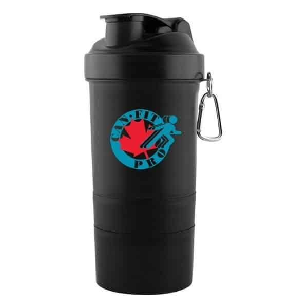 3 in 1 Shaker Cup - Black