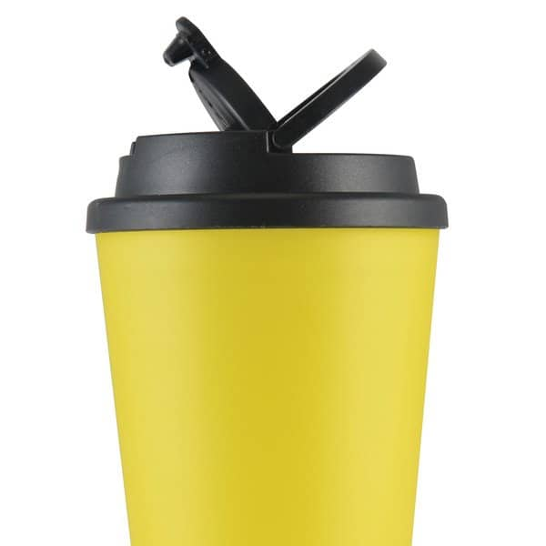 Aroma Coffee Cup with Handle Lid - Handle