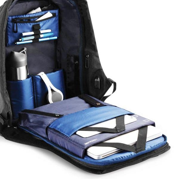 Bobby Anti Theft Backpack Blue