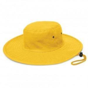 Cabana Wide Brim Hat - Yellow