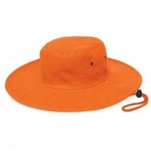 Cabana Wide Brim Hat - Orange