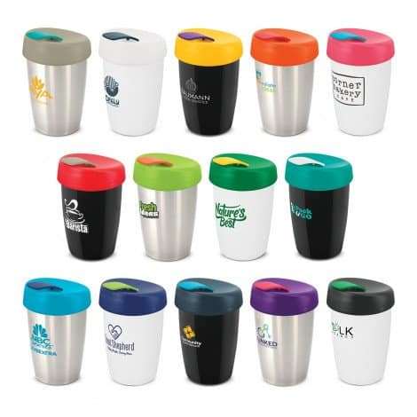 Express Cup Elite range with branding