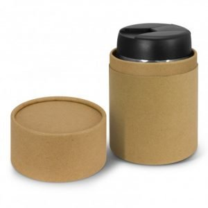 Java Vacuum Cup in natural coloured gift tube packaging