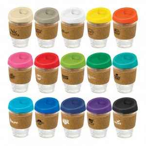 Metro Cup Cork Band range with branding