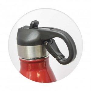 Mirage Steel Bottle Flip Lid - top