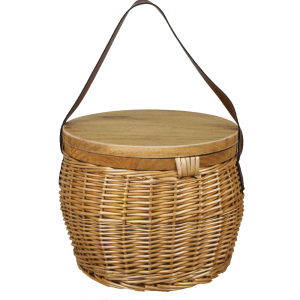 Trekk Wicker Cooler Basket