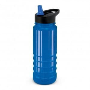 Triton Bottle Black Lid - Blue