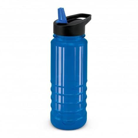 Triton Bottle Black Lid - Blue