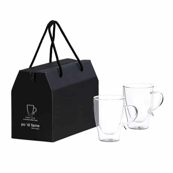 aroma glass coffee cup set