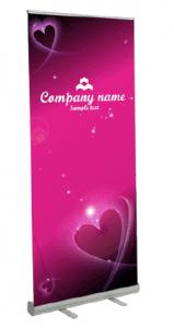 pullup banner sample