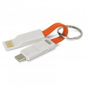 Electron 3 in 1 Charging Cable - Orange