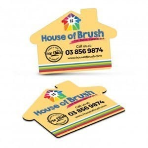 Fridge Magnet 70 x 50mm House Shape