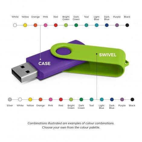 Helix 4GB Mix Match Flash Drive info