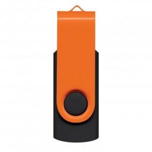 Helix 8GB Flash Drive - Orange