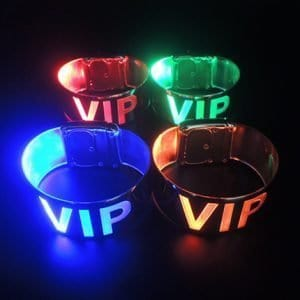LED Metallic Laser Band