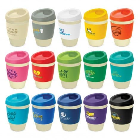 Metro Cup Bamboo range with branding