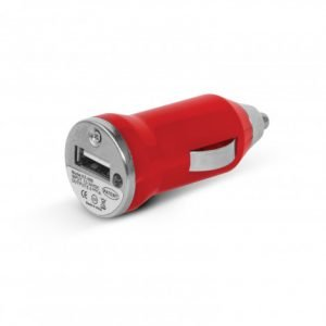 Mini Car Charger - Red