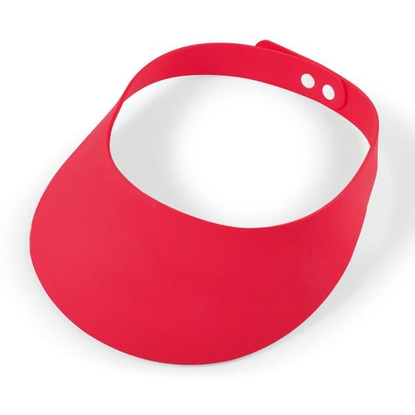 Sizzle Foam Visor - Red
