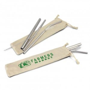 Stainless Steel Straw Set