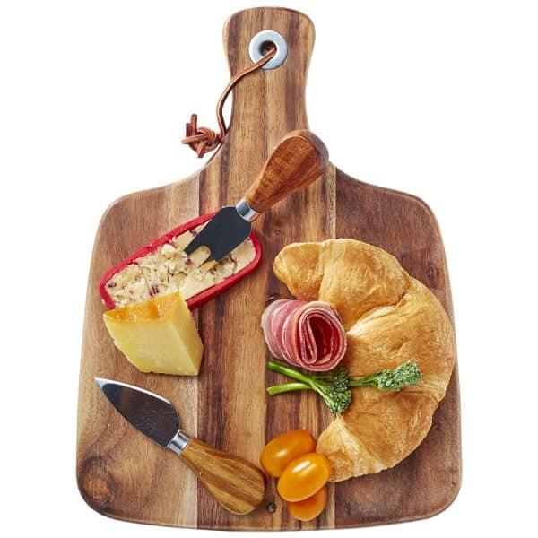 Acacia Cheeseboard & Knife Set