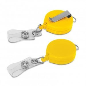 Alta Retractable ID Holder - Yellow