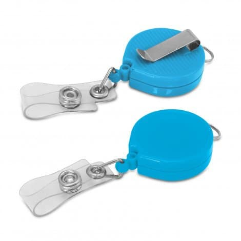 Alta Retractable ID Holder - Light Blue