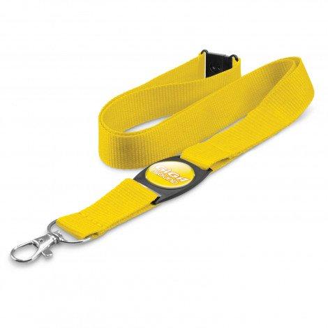 Crest Lanyard - Yellow