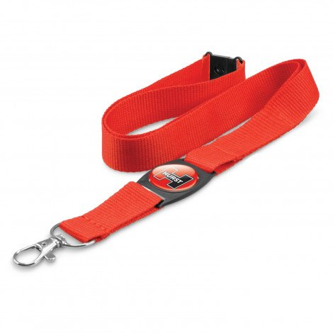 Crest Lanyard - Red
