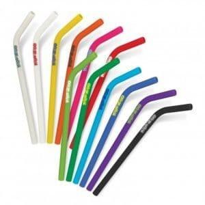 Silicone Straw range