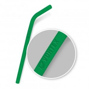 Silicone Straw with branding