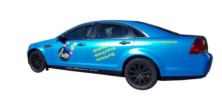 Spiffy vehicle vinyl wrapping