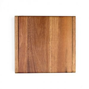 Clamshell Cheese Board - top view