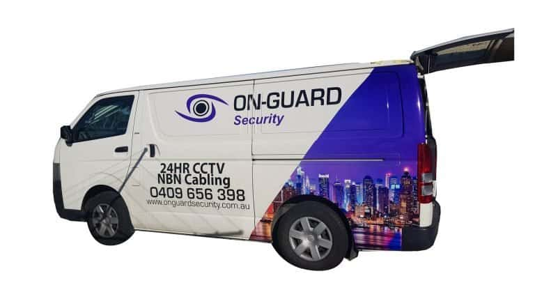 onguard van vehicle vinyl wrapping