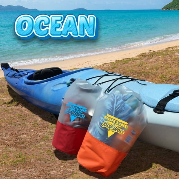 Ocean 10 litre waterproof bag 2 LL7505