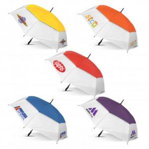Trident Sports Umbrella with White Panels