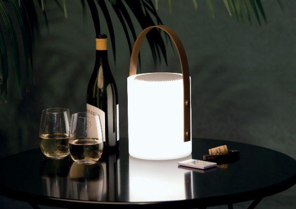 Twilight Speaker Lamp
