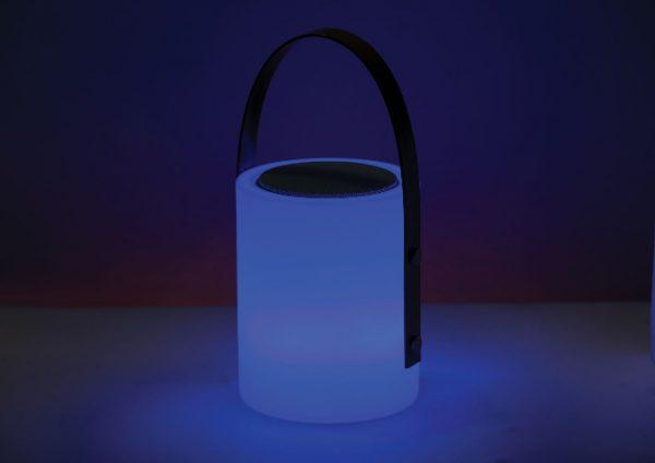 Twilight Speaker Lamp blue light