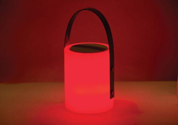 Twilight Speaker Lamp red light