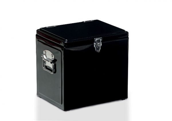 Vintage Cooler Box Black