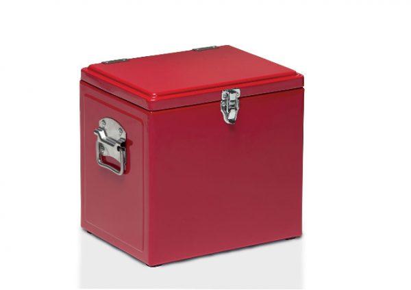 Vintage Cooler Box Red