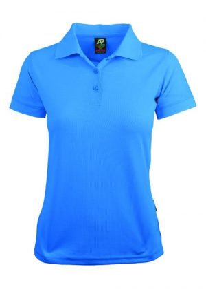 Polo Shirt Female Light Blue