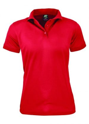 Polo Shirt Female Red