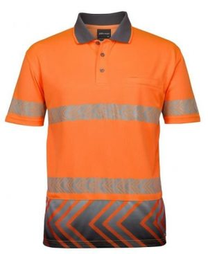 Polo Shirt Hi Vis Male Orange