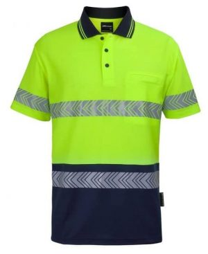 Polo Shirt Hi Vis Male Yellow