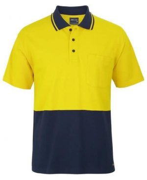 Polo Shirt Male Yellow
