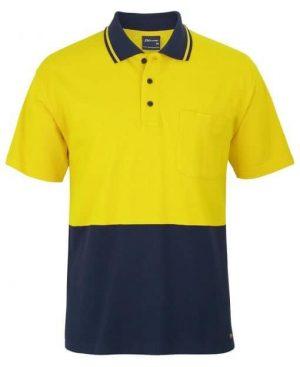 Polo Shirt Male Yellow