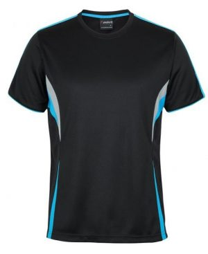 T Shirt Mens Black Blue Grey